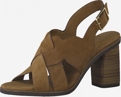 TAMARIS Sandale in karamell, Produktansicht