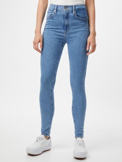 LEVI'S Jeans 'MILE HIGH Super Skinny' in Blue denim, View model