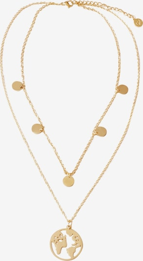GOOD.designs Kette 'Welt' in gold, Produktansicht
