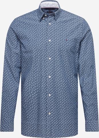 TOMMY HILFIGER Hemd in Blau