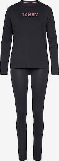 Tommy Hilfiger Underwear Pyjama in rot / schwarz, Produktansicht