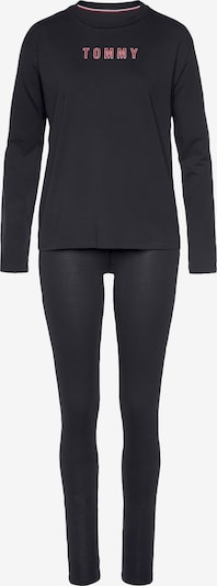 Tommy Hilfiger Underwear Pyjama en rouge / noir, Vue avec produit