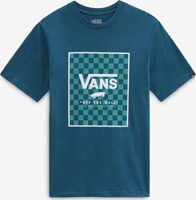 Tricou VANS pe albastru / alb, Vizualizare produs