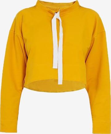 Gessica Sweatshirt in Gelb