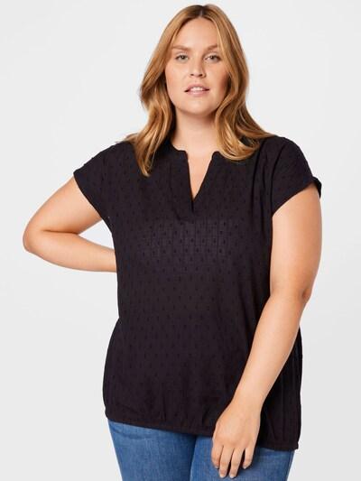 KAFFE CURVE Bluse 'Trina' in schwarz, Modelansicht