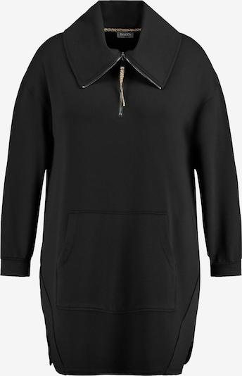 SAMOON Sweatshirt in schwarz, Produktansicht
