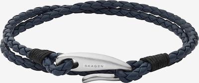 SKAGEN Armband in dunkelblau / silber, Produktansicht
