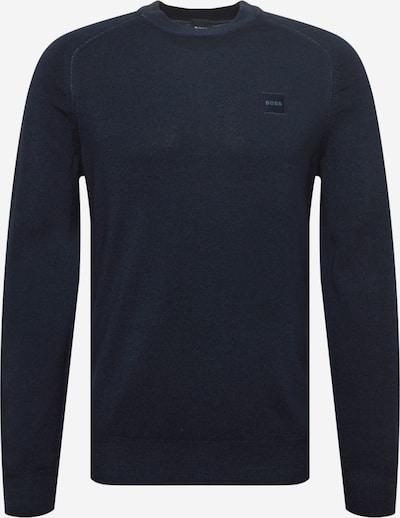 BOSS Casual Pullover 'Anserlot' en dunkelblau, Vue avec produit
