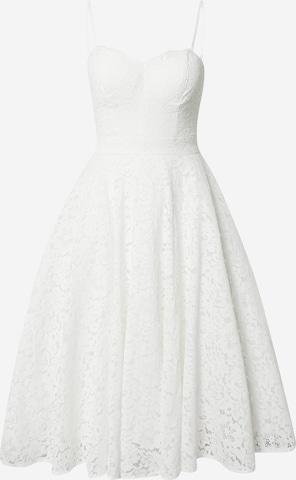 balta Chi Chi London Kokteilinė suknelė