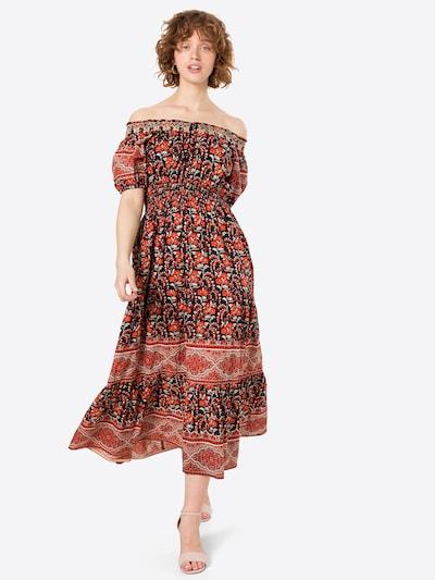 Derhy Kleid in rot / schwarz / weiß, Modelansicht