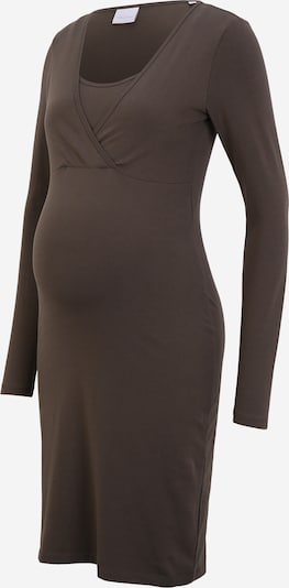 MAMALICIOUS Dress 'LEA' in Taupe, Item view