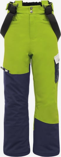 DARE 2B Skihose in dunkelblau / neongrün, Produktansicht