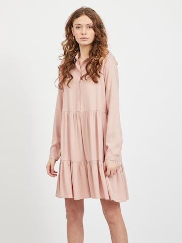 Abito camicia di VILA in rosa