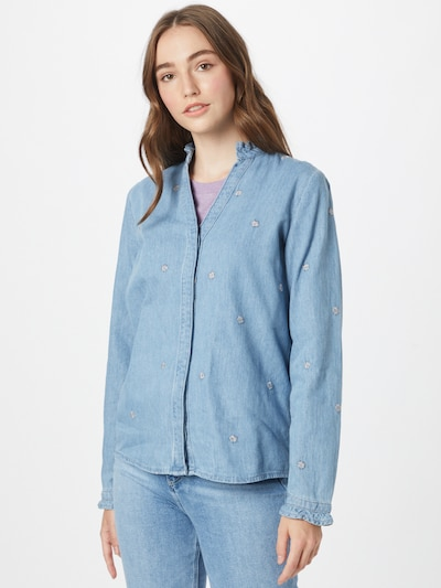 Fabienne Chapot Bluzka w kolorze jasnoniebieskim, Podgląd na modelu(-ce)
