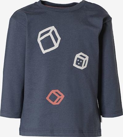 Sanetta Pure Shirt in nachtblau / pastellrot / naturweiß, Produktansicht
