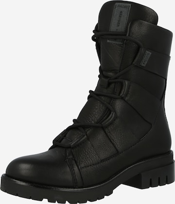 Greyderlab Lace-Up Ankle Boots in Black