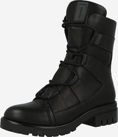 Greyderlab Schnürstiefelette in schwarz, Produktansicht
