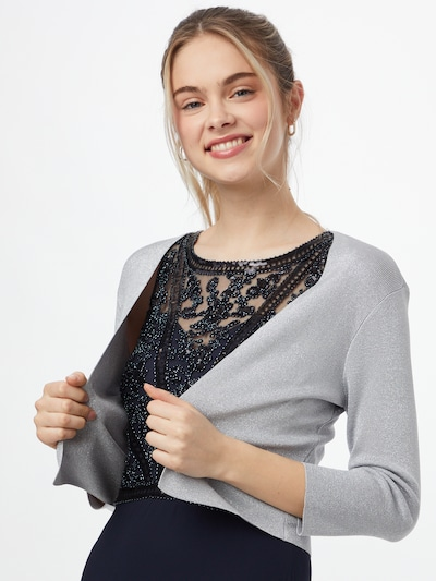 Vera Mont Bolero in silbergrau, Modelansicht