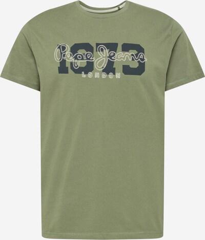 Pepe Jeans T-Shirt 'ANDRES' in oliv / schwarz / weiß, Produktansicht