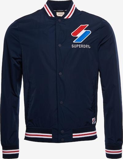 Superdry Tussenjas in de kleur Marine / Rood / Wit, Productweergave