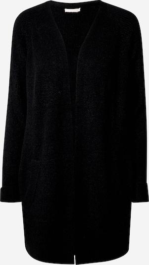 PIECES Strickjacke in schwarz, Produktansicht