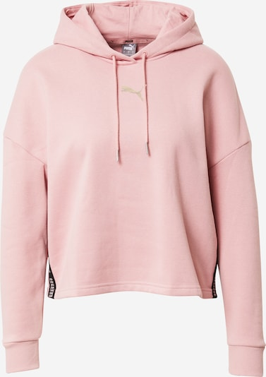 PUMA Sweatshirt 'Metallic Night' in rosé: Frontalansicht