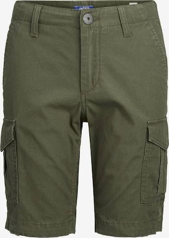 Pantaloni de la Jack & Jones Junior pe verde