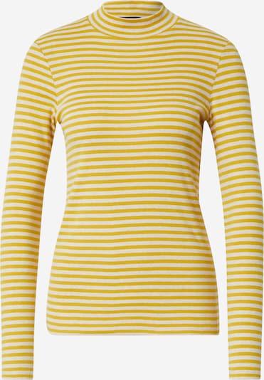 Marc O'Polo Shirt in gelb / weiß: Frontalansicht
