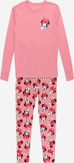 Pijamale GAP pe albastru noapte / roz neon / roz deschis / alb, Vizualizare produs