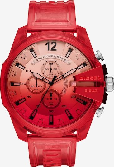 DIESEL Uhr in knallrot, Produktansicht