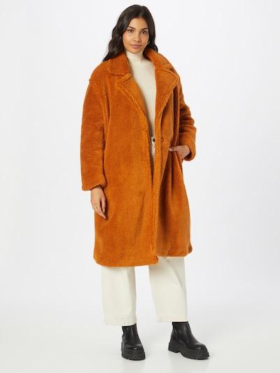 ONLY Mantel 'EVELIN' in dunkelorange, Modelansicht