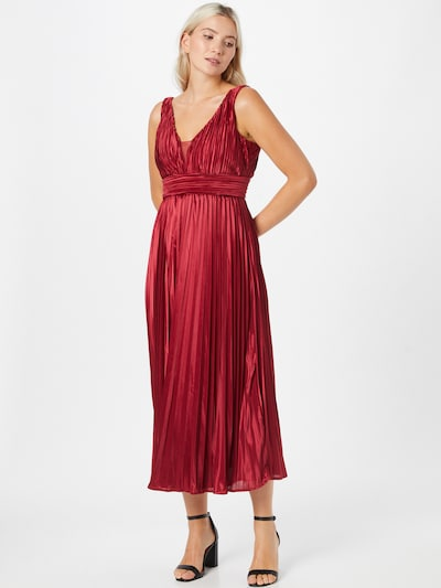 Forever Unique Kleid in burgunder, Modelansicht