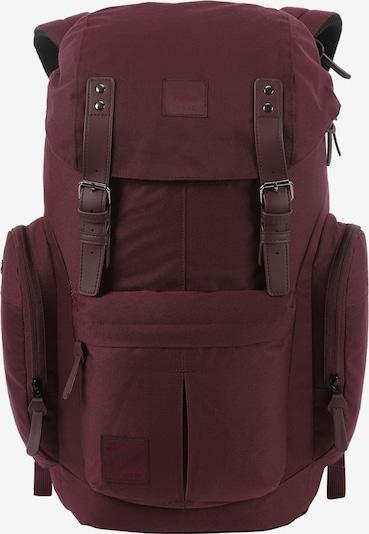 NitroBags Rugzak in de kleur Robijnrood, Productweergave