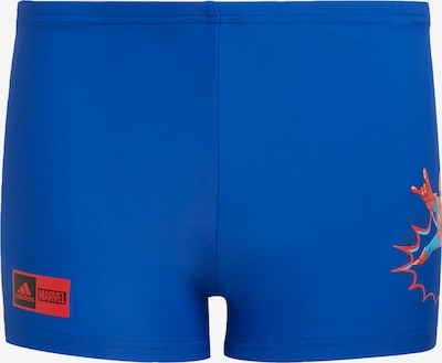 ADIDAS PERFORMANCE Badehose 'MARVEL' in royalblau / rot, Produktansicht