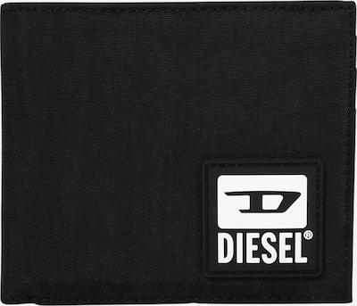 DIESEL Geldbörse 'HIRESH' in schwarz / weiß, Produktansicht