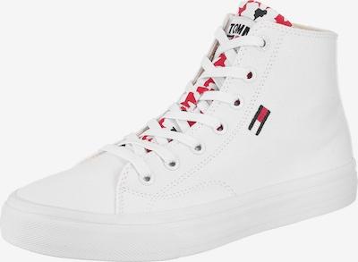 tengerészkék / piros / fehér Tommy Jeans Magas szárú edzőcipők, Termék nézet