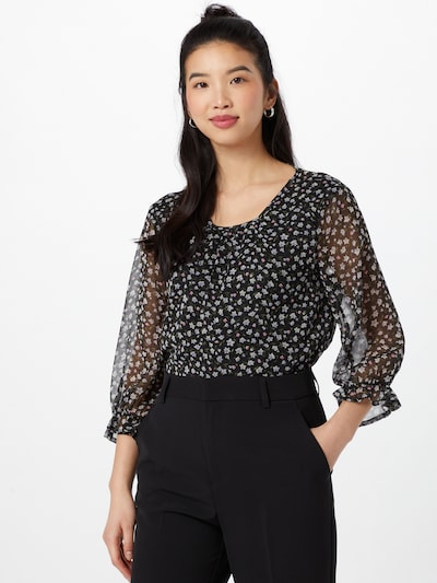 Bluză 'Penelope' JACQUELINE de YONG pe culori mixte / negru, Vizualizare model