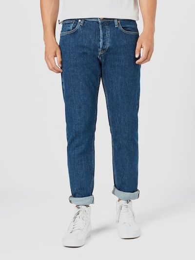 JACK & JONES Jeans 'JJIMIKE' in blue denim: Frontalansicht