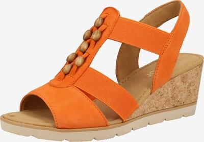 GABOR Sandale in orange, Produktansicht