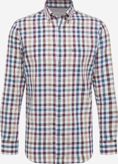 Dalykiniai marškiniai iš bugatti , spalva - smėlio / purpurinė, Prekių apžvalga