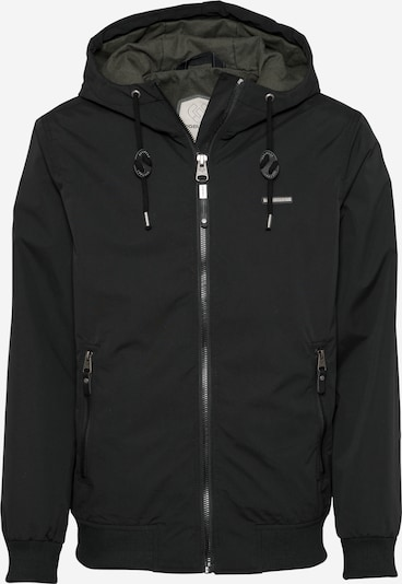 Ragwear Jacke 'Percy' in schwarz, Produktansicht