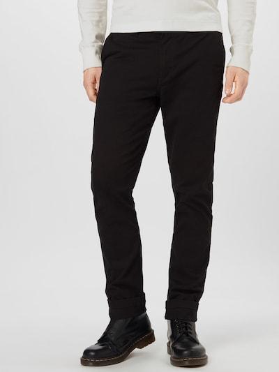 Chino stiliaus kelnės 'Daniel' iš Kronstadt , spalva - juoda, Modelio vaizdas