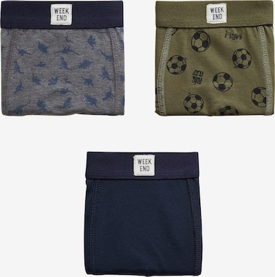 MANGO KIDS Slip in dunkelblau / khaki, Produktansicht