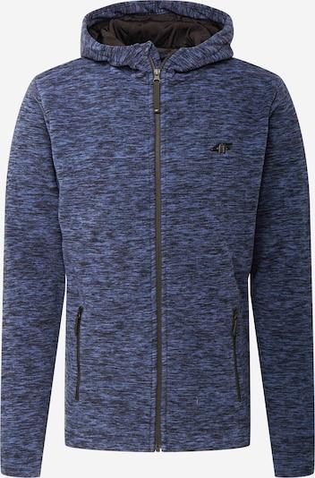 4F Tehnička flis jakna u tamno plava: Prednji pogled
