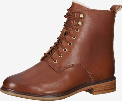 CLARKS Lace-Up Ankle Boots in Chamois, Item view