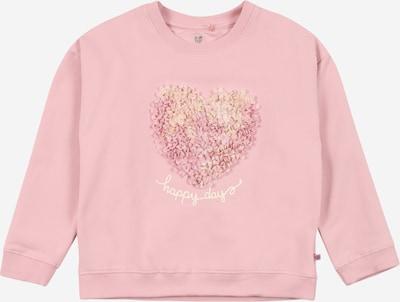 BASEFIELD Majica | svetlo rumena / roza barva: Frontalni pogled