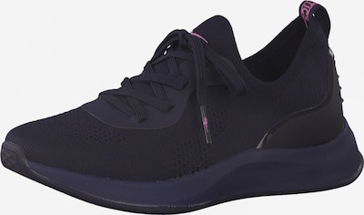 Tamaris Fashletics Sneaker in dunkelblau / rosa, Produktansicht