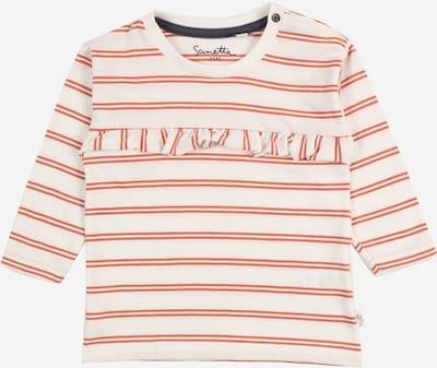 Sanetta Pure Camiseta en naranja / blanco, Vista del producto