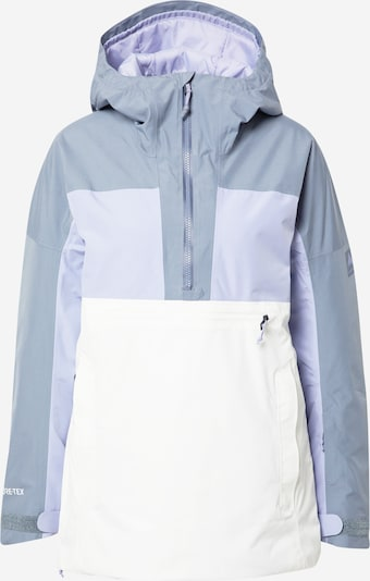 BURTON Outdoor jacket in Smoke grey / Lavender / White, Item view
