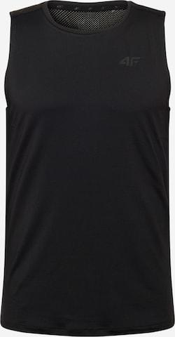4F Funksjonsskjorte i svart